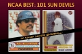 Tribute to 101 Sun Devils in Major League Baseball: Official Trading-cards