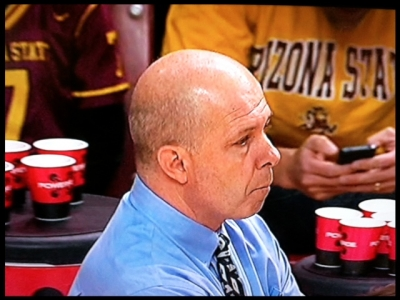 Coach Herb Sendek and the Sun Devils lost to Stanford at home, 62-59.
