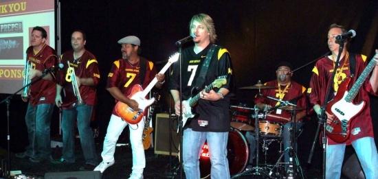The band of Sun Devil Alumni rocks the pavilion