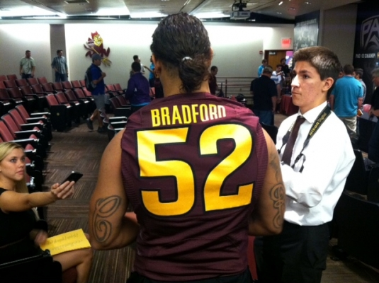 Bradford and company will have to do a better job against the run in 2013.