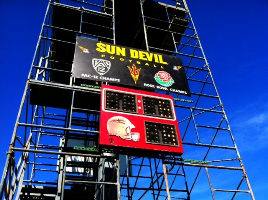 Sun Devil Football begins to climb the tower to the top of the Pac-12 on Tuesday, August 6th.