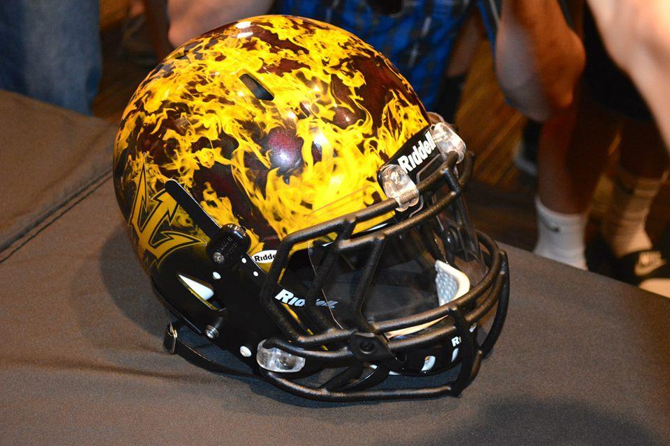Notre dame football helmet 2014