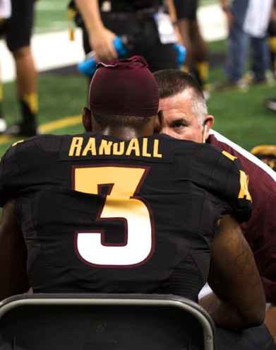 In his first start for ASU, DB Damarious Randall collected 17 tackles