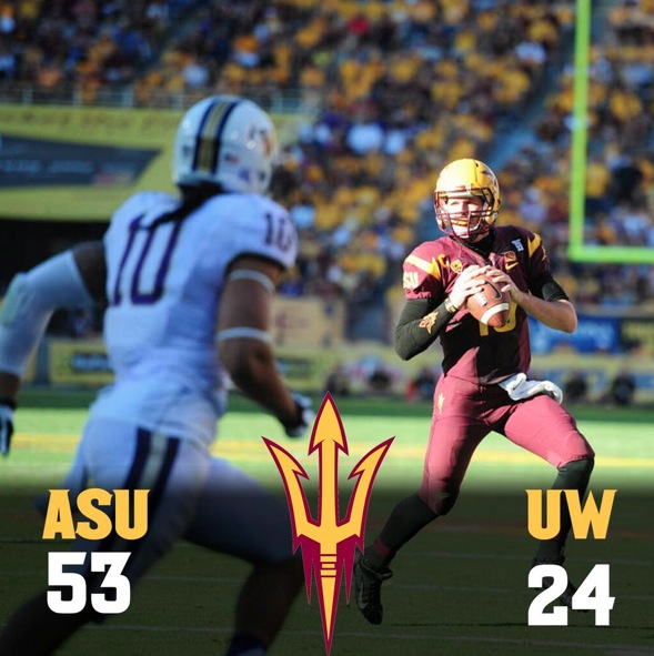 ASU moves to 5-2 and controls it's destiny in the Pac-12 South