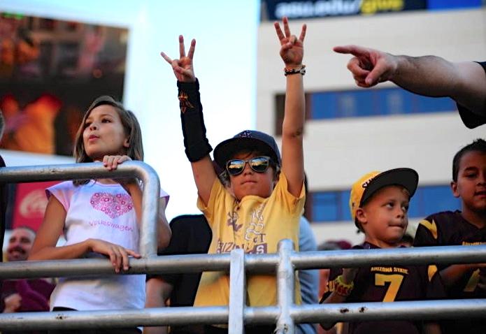 Best Photo, ASU Athletics - courtesy ASU