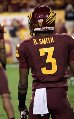 Will Sophomore WR, #3 Rick Smith, step up?