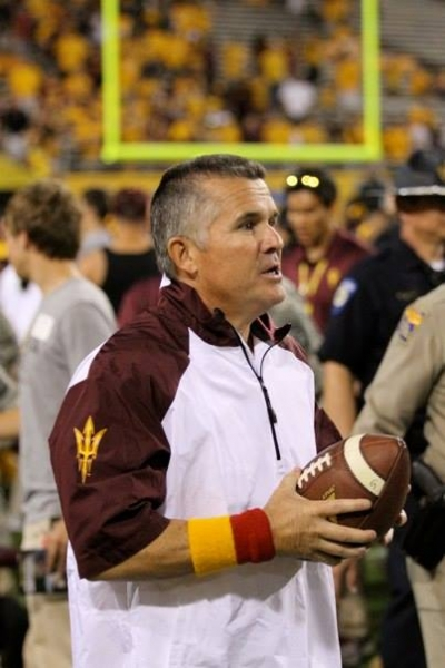 ASU head coach Todd Graham.