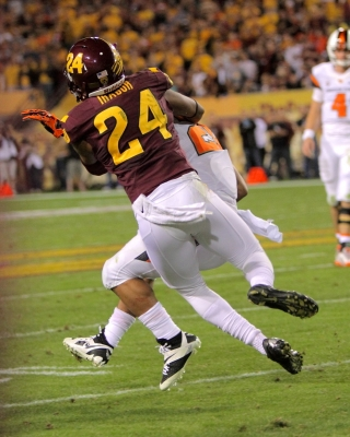 ASU Safety, Senior Osahon Irabor