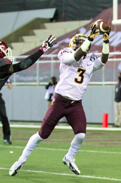 Sun Devil Receiver, #3 Rick Smith