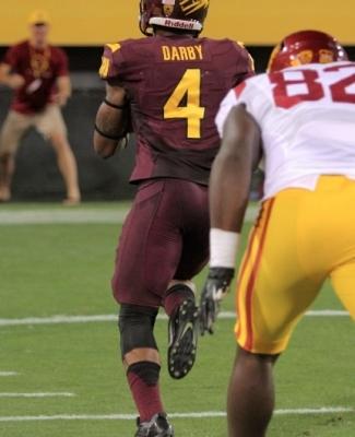 Darby's Pic-Six vs USC