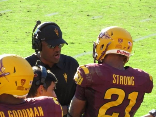 Wide Receivers Assistant Coach, DelVaughn Alexander