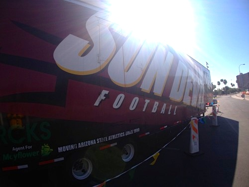 Taking Sun Devil Football on the road