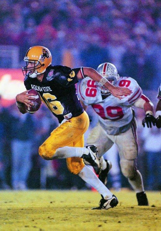 #16 Jake Plummer in the 1997 Rose Bowl