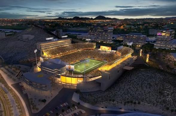 the new sun devil stadium photos video answers. Black Bedroom Furniture Sets. Home Design Ideas