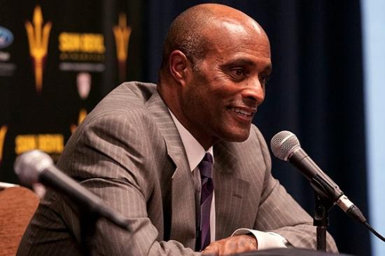 Arizona State University's new Vice President for University Athletics, Ray Anderson