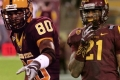 ASU's Jaelen Strong vs Derek Hagan: Putting the Sun Devil Receivers Side-by-Side