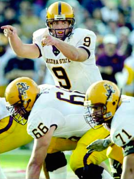 Sophomore QB Sam Keller in his first start - 2004 Sun Bowl