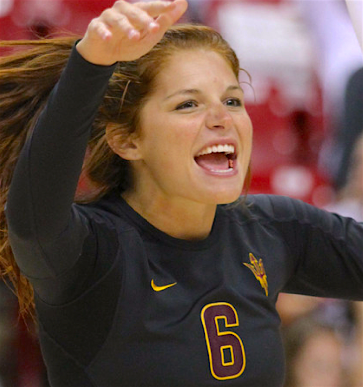 Stephanie Preach, ASU Volleyball, 2010-2013)