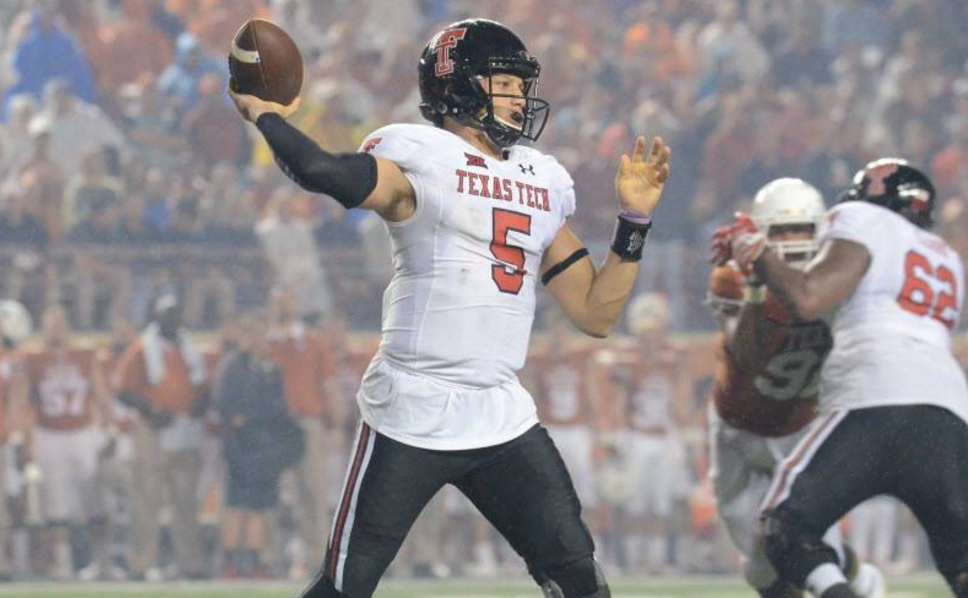 Texas tech QB