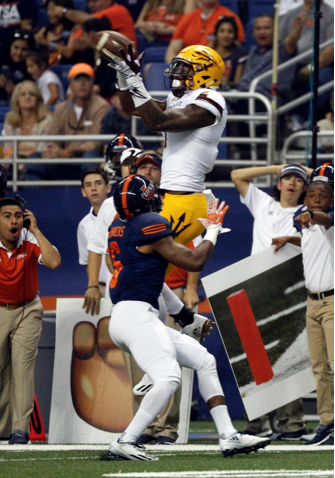 Freshman receiver N'Keal Harry has become a sure-handed weapon for ASU