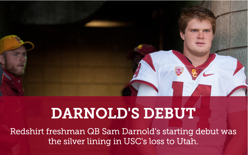 Learn a little more about Sam Darnold hear