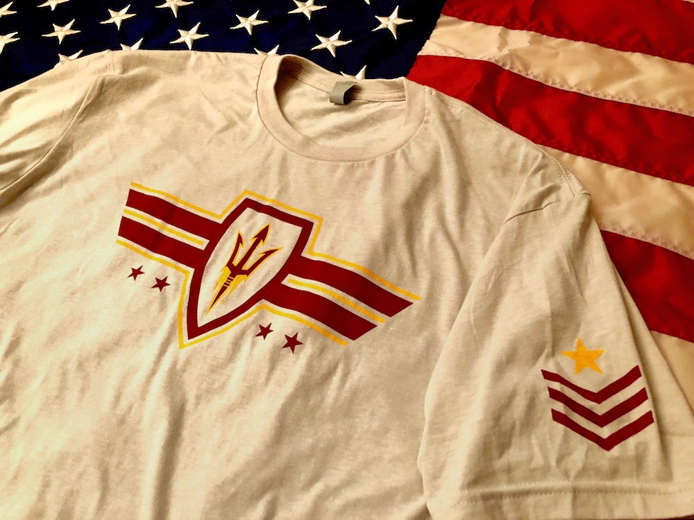 The service-themed Sun Devil Squad T-Shirt from local brand, Stay True Apparel Co