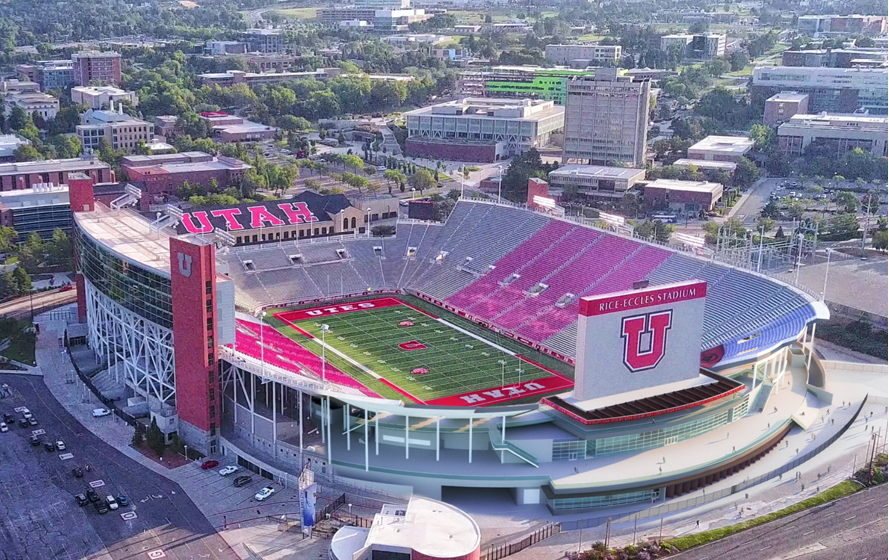 Utah Utes, Rice-Eccles Stadium